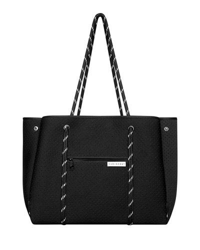 The Leader Carryall Diaper Bag, Black