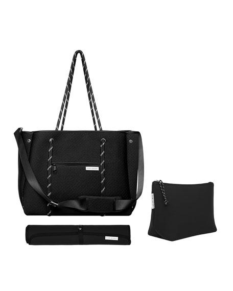 The Mumset 3-Piece Baby Bag Set, Black