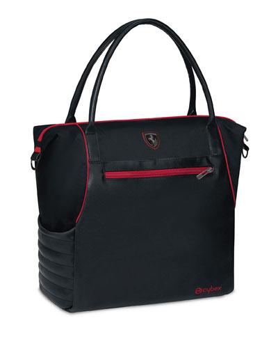 Ferrari Diaper Changing Bag, Black