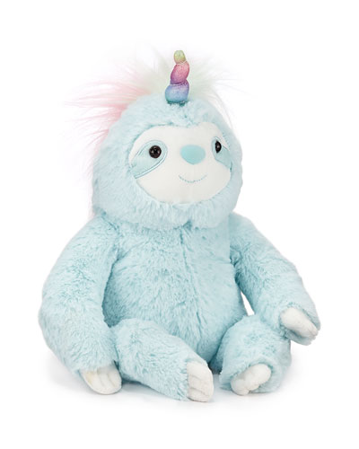Dazzle Slothicorn Stuffed Animal