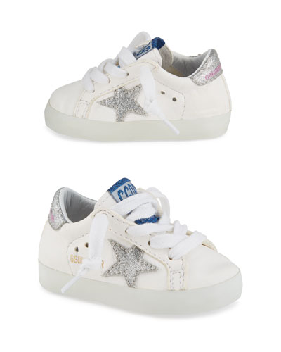 Old School Leather Sneakers  Toddler/Kids