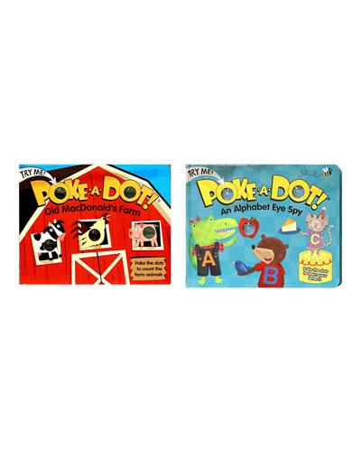 Poke-A-Dot Book Bundle - Old MacDonald and Alpha Eye Spy Books