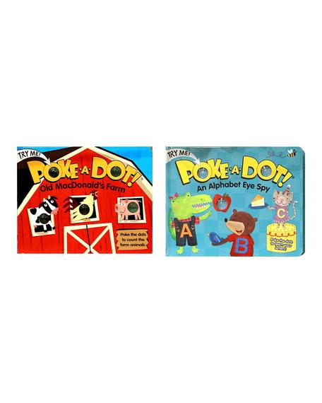 "Poke-A-Dot Book Bundle - ""Old MacDonald"" and ""Alpha Eye Spy"" Books"