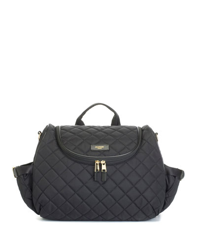 Poppy Quilted Diaper Bag