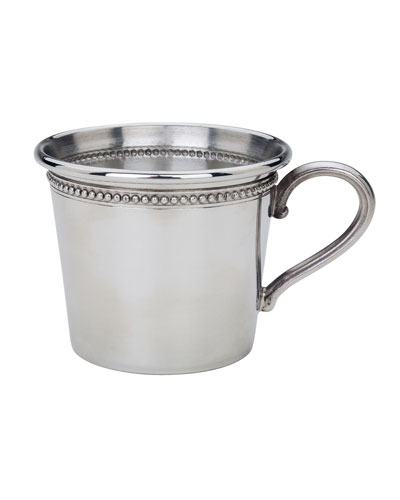 Beads Pewter Baby Cup