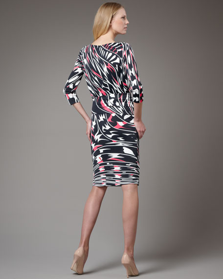 Marilyn Printed Dress
