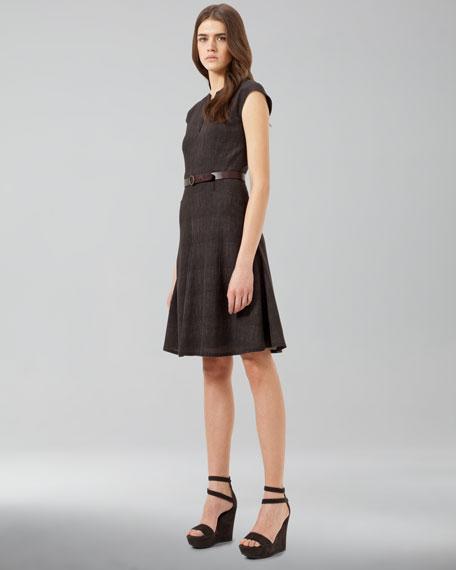 Full-Skirt Dress