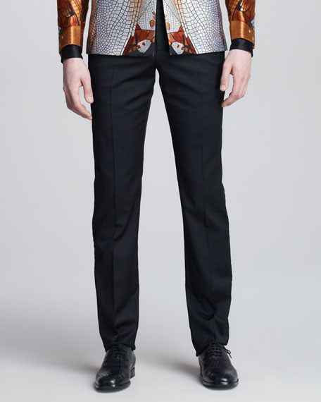 Side-Stripe Tuxedo Pants