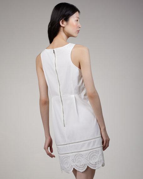 Palmetto Slvls Eyelet Dress