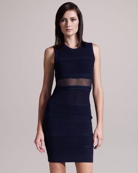 Marbella Sheer-Inset Dress