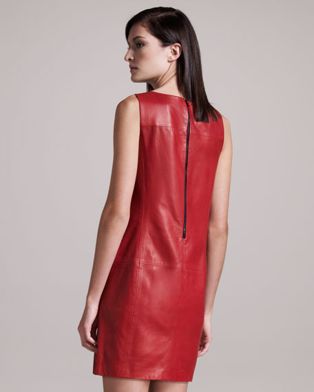 Corina Leather Dress
