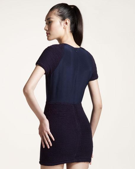 Silk Combo Dress