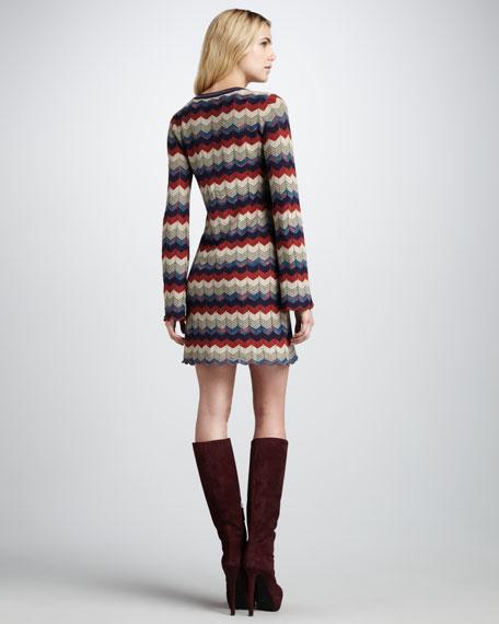 Wavy-Stripe Dress