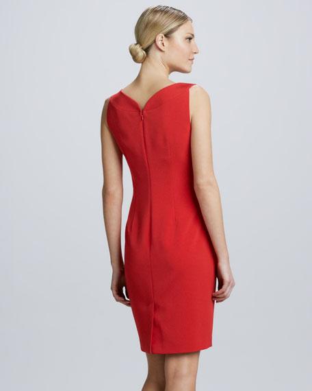Gretta Knit Sheath Dress