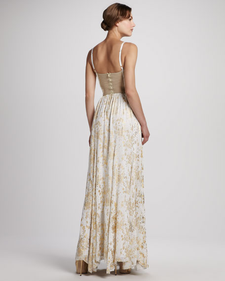Yarra Bustier Maxi Dress