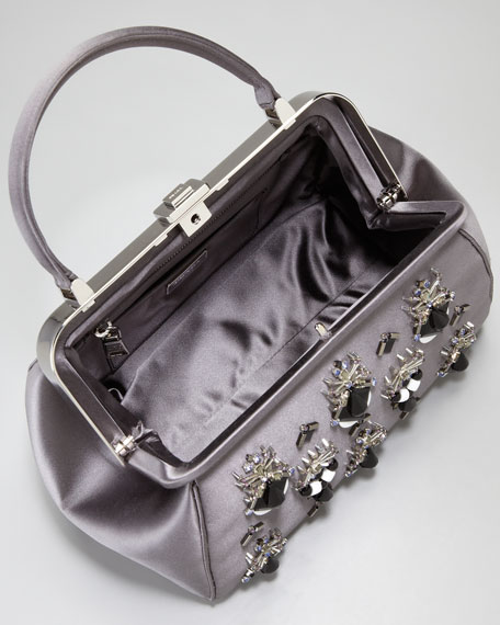 Raso Ricamo Framed Doctor's Bag