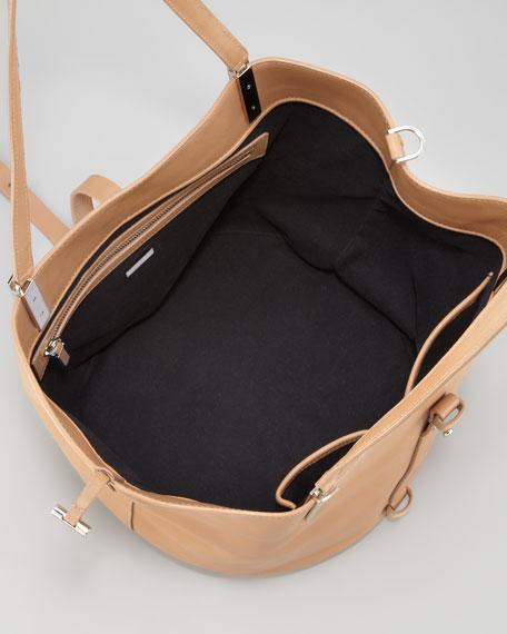 Garden Calfskin Tote Bag, Tan