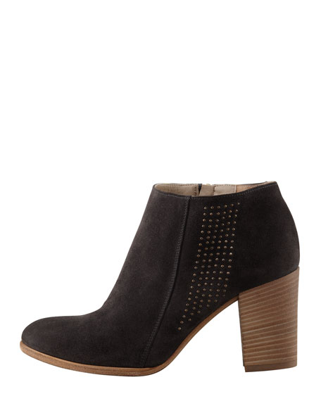 Vicenza Studded Suede Ankle Boot