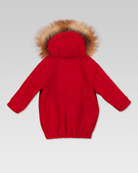 Fox-Trim Parka