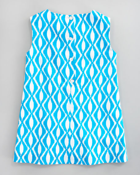 Batik Print A-line Dress