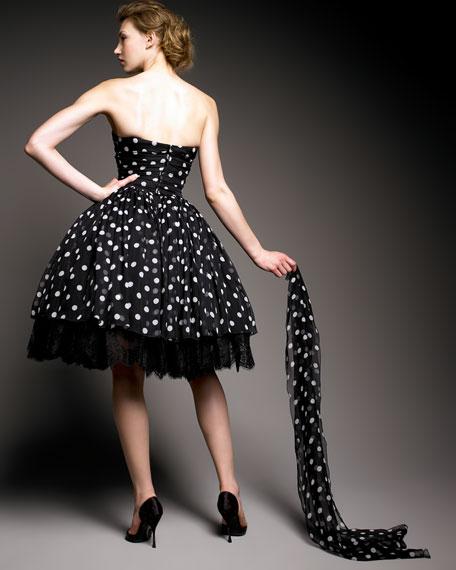 Lace and Crinoline Dress