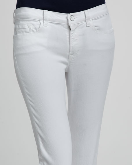 Janey Snow Slim Boot-Cut Jeans