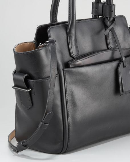 Mini Atlantique Tote Bag, Black Multi