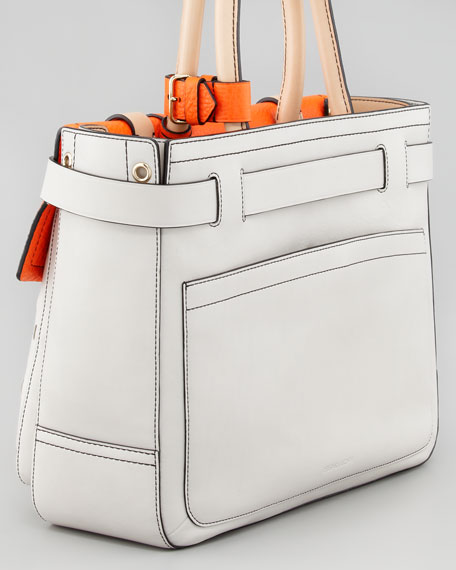 Boxer Tote Bag, White Decoy
