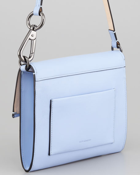 Kit Clutch Bag, Oxford Blue