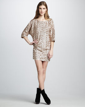 Rachel Zoe Tinsley Sequined Dress