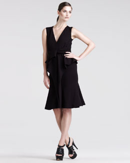 Altuzarra Kudu Sleeveless Wrap Dress