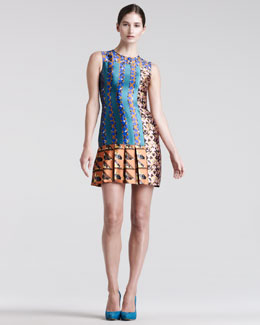 Peter Pilotto Mik Printed Silk Dress