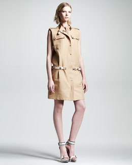 Belstaff Amersham Sleeveless Trialmaster Dress