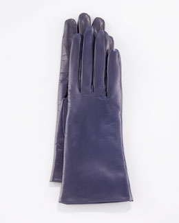Portolano Two-Button Classic Gloves, Mysterioso Navy