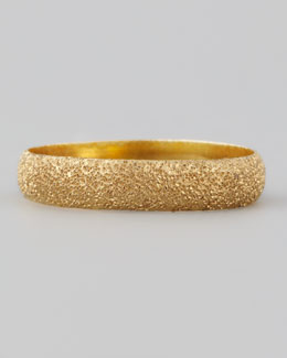 Carolina Bucci Mirador 18kt Yellow Gold Sparkly Ring