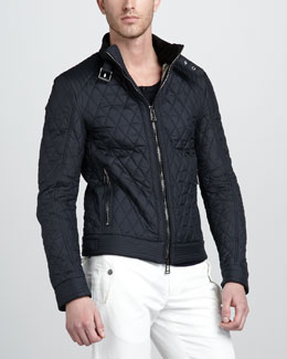 Belstaff Brambley Quilted Racer Jacket