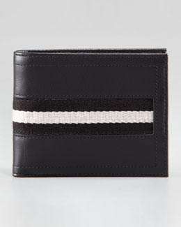 Bally Tollen Striped Wallet