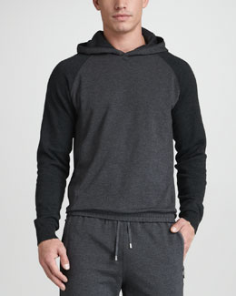 Zegna Sport Stretch-Cotton Hoodie