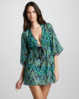 Milly Ava Printed Coverup Tunic