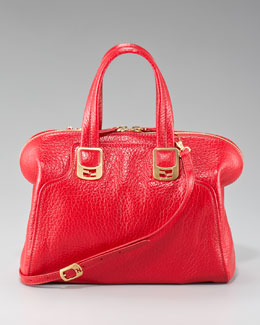 Fendi Chameleon Medium Solid Tote