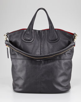 Givenchy Nightingale Waxy Leather Shopper
