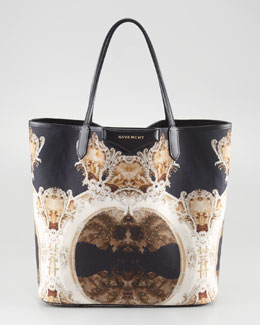 Givenchy Antigona Church-Print Shopper, Medium