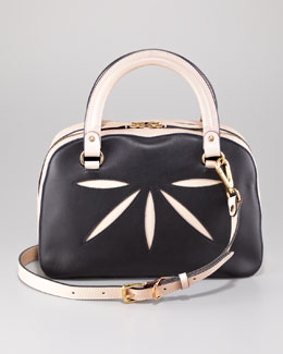 Marni Double-Handle Cutout Satchel Bag