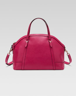 Gucci Gucci Nice Dome Satchel Bag, Pink