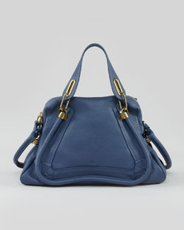 Paraty Medium Shoulder Bag, Blue