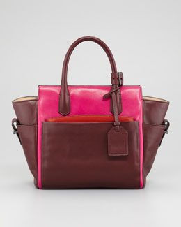 Reed Krakoff Atlantique Mini Tote Bag, Crimson