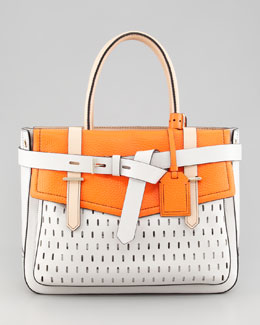 Reed Krakoff Boxer Tote Bag, White Decoy