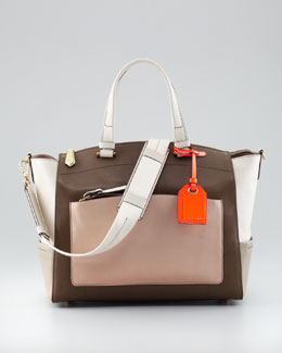 Reed Krakoff Uniform Satchel Bag, Neutral