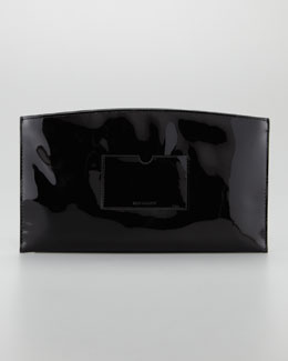 Reed Krakoff Atlantique Patent Pouch, Black