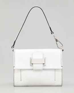Reed Krakoff Kit Clutch Bag, Optic White